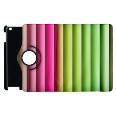 Vertical Blinds A Completely Seamless Tile Able Background Apple Ipad 2 Flip 360 Case by Nexatart