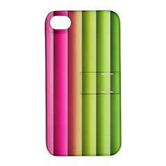 Vertical Blinds A Completely Seamless Tile Able Background Apple Iphone 4/4s Hardshell Case With Stand by Nexatart