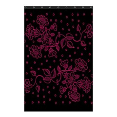 Pink Floral Pattern Background Shower Curtain 48  X 72  (small)  by Nexatart