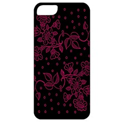 Pink Floral Pattern Background Apple Iphone 5 Classic Hardshell Case by Nexatart