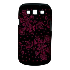 Pink Floral Pattern Background Samsung Galaxy S Iii Classic Hardshell Case (pc+silicone) by Nexatart