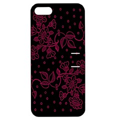 Pink Floral Pattern Background Apple Iphone 5 Hardshell Case With Stand by Nexatart