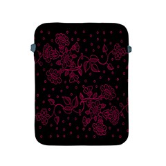 Pink Floral Pattern Background Apple Ipad 2/3/4 Protective Soft Cases by Nexatart