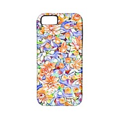 Lovely Floral 31d Apple Iphone 5 Classic Hardshell Case (pc+silicone) by MoreColorsinLife