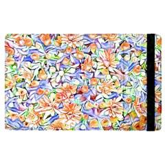Lovely Floral 31d Apple Ipad Pro 12 9   Flip Case by MoreColorsinLife