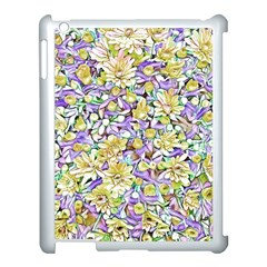 Lovely Floral 31e Apple Ipad 3/4 Case (white) by MoreColorsinLife