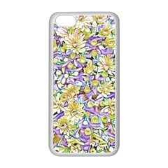 Lovely Floral 31e Apple Iphone 5c Seamless Case (white)