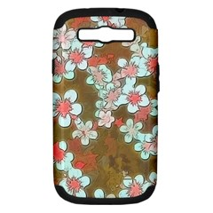 Lovely Floral 29 A Samsung Galaxy S Iii Hardshell Case (pc+silicone) by MoreColorsinLife