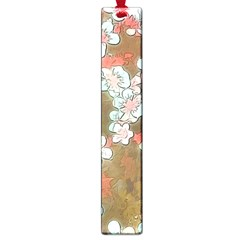 Lovely Floral 29 A Large Book Marks by MoreColorsinLife