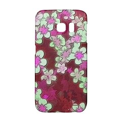 Lovely Floral 29 B Galaxy S6 Edge by MoreColorsinLife