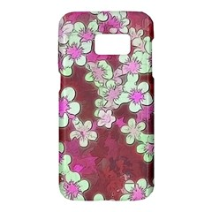 Lovely Floral 29 B Samsung Galaxy S7 Hardshell Case  by MoreColorsinLife