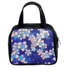 Lovely Floral 29 C Classic Handbags (2 Sides) by MoreColorsinLife