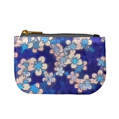 Lovely Floral 29 C Mini Coin Purses by MoreColorsinLife