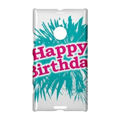 Happy Brithday Typographic Design Nokia Lumia 1520 by dflcprints