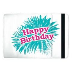 Happy Brithday Typographic Design Samsung Galaxy Tab Pro 10 1  Flip Case by dflcprints