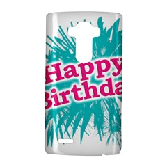 Happy Brithday Typographic Design Lg G4 Hardshell Case by dflcprints