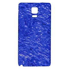 Thick Wet Paint A Galaxy Note 4 Back Case by MoreColorsinLife