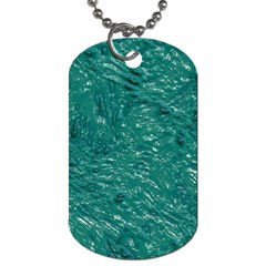 Thick Wet Paint B Dog Tag (two Sides) by MoreColorsinLife