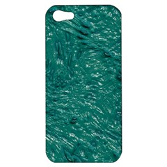 Thick Wet Paint B Apple Iphone 5 Hardshell Case by MoreColorsinLife