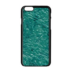 Thick Wet Paint B Apple Iphone 6/6s Black Enamel Case