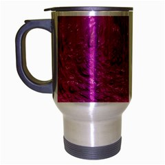 Thick Wet Paint C Travel Mug (silver Gray) by MoreColorsinLife