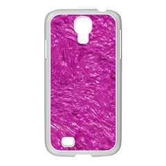 Thick Wet Paint C Samsung Galaxy S4 I9500/ I9505 Case (white) by MoreColorsinLife