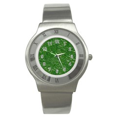 Thick Wet Paint D Stainless Steel Watch by MoreColorsinLife