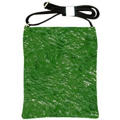 Thick Wet Paint D Shoulder Sling Bags by MoreColorsinLife