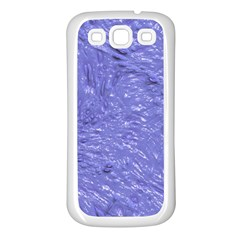 Thick Wet Paint H Samsung Galaxy S3 Back Case (white) by MoreColorsinLife