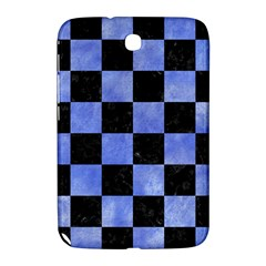 Square1 Black Marble & Blue Watercolor Samsung Galaxy Note 8 0 N5100 Hardshell Case  by trendistuff