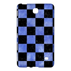 Square1 Black Marble & Blue Watercolor Samsung Galaxy Tab 4 (7 ) Hardshell Case  by trendistuff