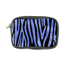 Skin4 Black Marble & Blue Watercolor (r) Coin Purse by trendistuff
