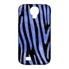 Skin4 Black Marble & Blue Watercolor (r) Samsung Galaxy S4 Classic Hardshell Case (pc+silicone) by trendistuff