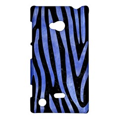 Skin4 Black Marble & Blue Watercolor (r) Nokia Lumia 720 Hardshell Case by trendistuff