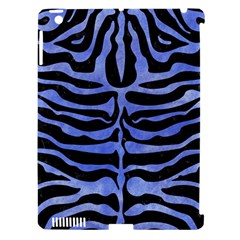 Skin2 Black Marble & Blue Watercolor Apple Ipad 3/4 Hardshell Case (compatible With Smart Cover) by trendistuff