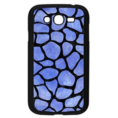 Skin1 Black Marble & Blue Watercolor Samsung Galaxy Grand Duos I9082 Case (black) by trendistuff