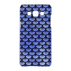 Scales3 Black Marble & Blue Watercolor (r) Samsung Galaxy A5 Hardshell Case  by trendistuff