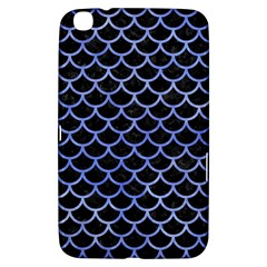 Scales1 Black Marble & Blue Watercolor Samsung Galaxy Tab 3 (8 ) T3100 Hardshell Case  by trendistuff