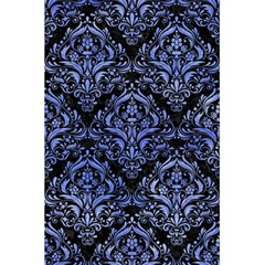 Damask1 Black Marble & Blue Watercolor 5 5  X 8 5  Notebook by trendistuff