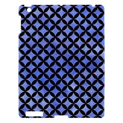 Circles3 Black Marble & Blue Watercolor (r) Apple Ipad 3/4 Hardshell Case by trendistuff