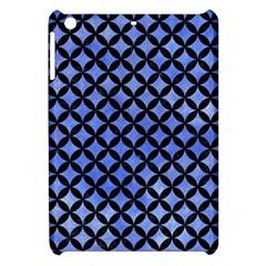 Circles3 Black Marble & Blue Watercolor (r) Apple Ipad Mini Hardshell Case by trendistuff