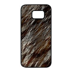 Wet Stone 11 Samsung Galaxy S7 Edge Black Seamless Case by MoreColorsinLife