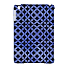 Circles3 Black Marble & Blue Watercolor Apple Ipad Mini Hardshell Case (compatible With Smart Cover) by trendistuff