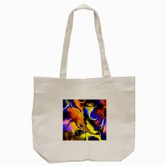 Fractal Art Pattern Cool Tote Bag (cream)