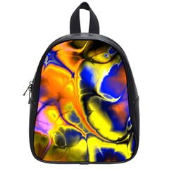 Fractal Art Pattern Cool School Bags (small)