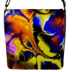 Fractal Art Pattern Cool Flap Messenger Bag (s) by Nexatart