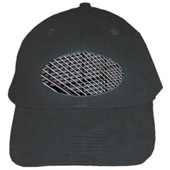 Abstract Architecture Pattern Black Cap