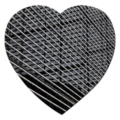 Abstract Architecture Pattern Jigsaw Puzzle (heart)
