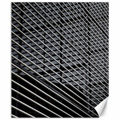 Abstract Architecture Pattern Canvas 8  X 10  by Nexatart