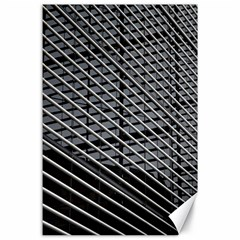 Abstract Architecture Pattern Canvas 24  X 36  by Nexatart